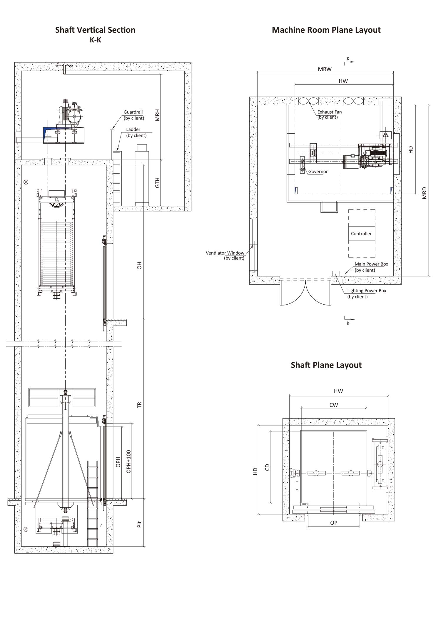 Freight Elevator Ele Tech Co Ltd Myanmar Escalator Schematic Machine Roomless